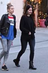 Lana Del Rey - Shops For Christmas in Beverly Hills With Gal Pal 12/12/ 2016
