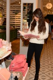 Lea Michele at The Aerie Pop-Up Shop in NYC 12/15/ 2016
