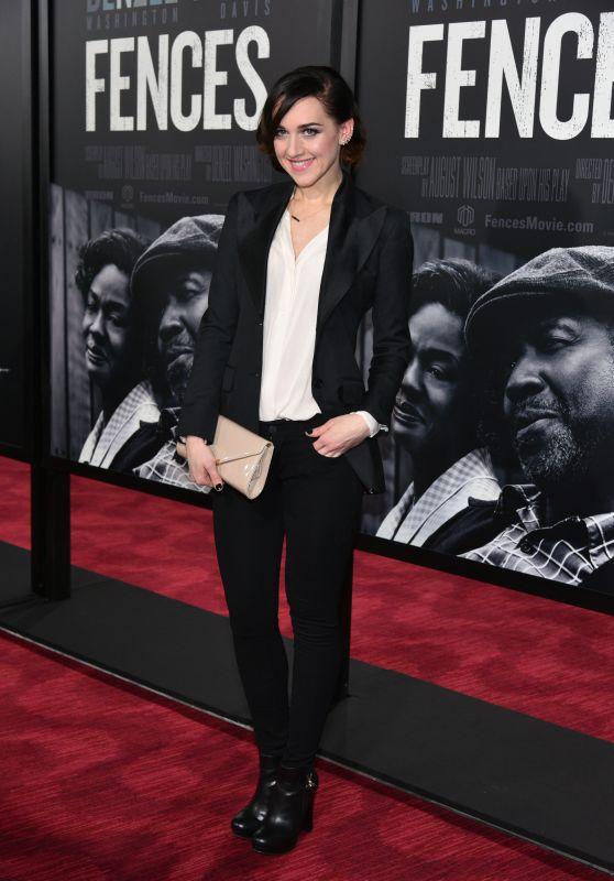 Lena Hall - Fences Film Screening in NYC 12/19/ 2016