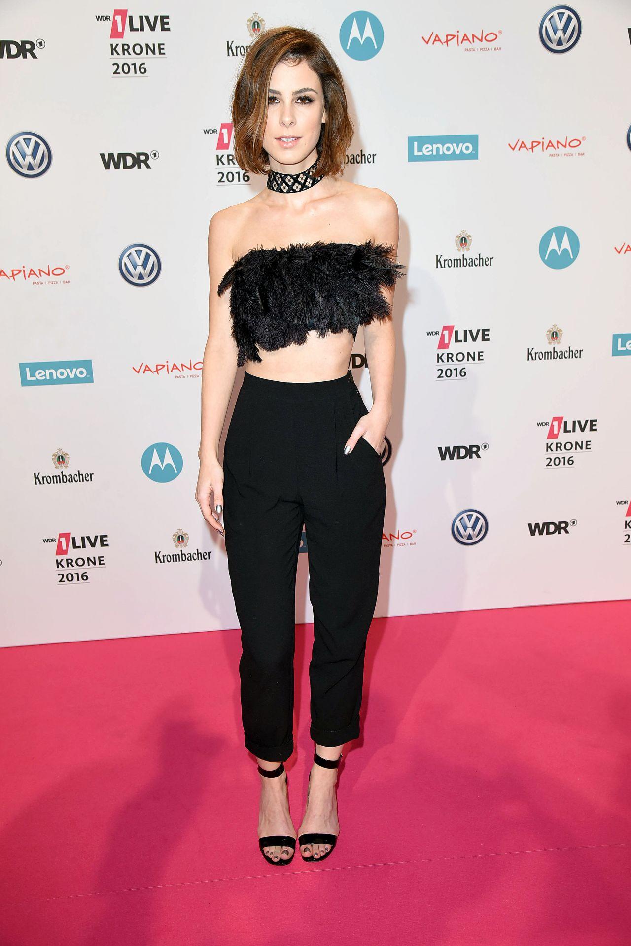 Lena Meyer Landrut 1live Krone Awards2016 In Bochum