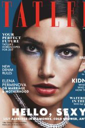 Lily Aldridge - Tatler Magazine UK January 2017 Issue