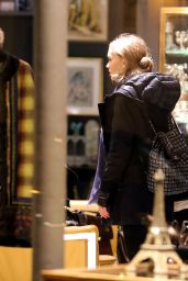Lily-Rose Depp - Shopping With Her Mother Vanessa Paradis in Paris 12/22/ 2016