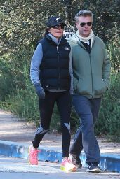 Lisa Rinna - Enjoys a Hike at TreePeople Park in Los Angeles 12/27/ 2016