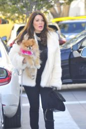 Lisa Vanderpump at Ralph Lauren in Beverly Hills 12/23/ 2016