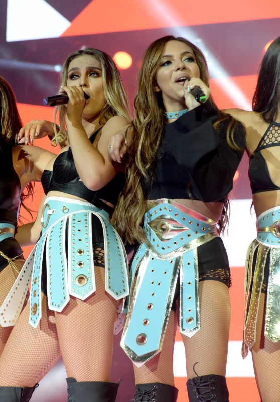 Little Mix - Performing at Capital FM Jingle Bell Ball 12/3/ 2016