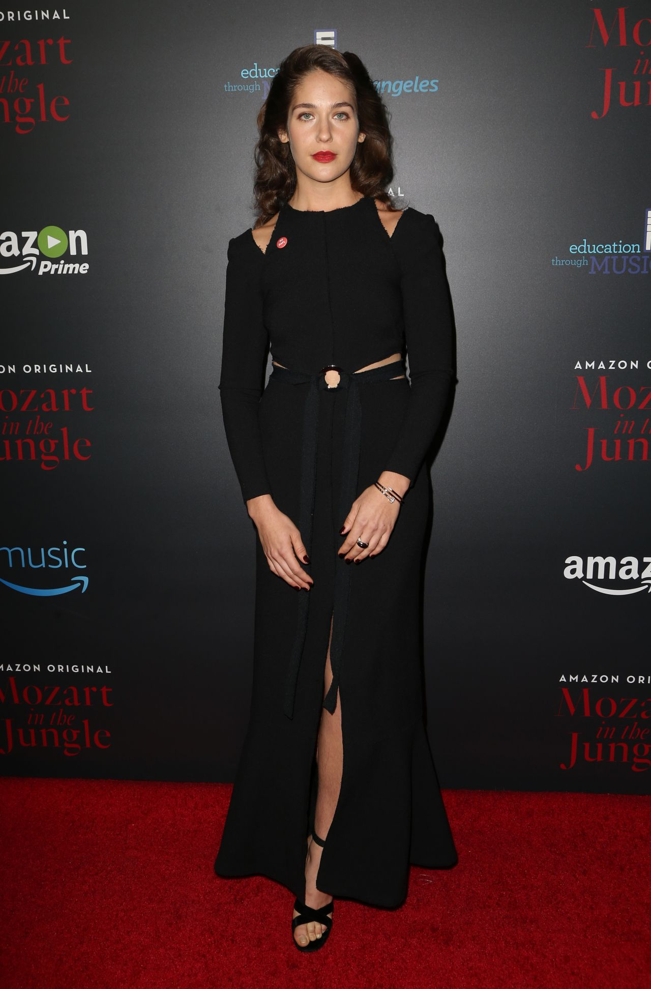 Lola Kirke Amazon S Mozart In The Jungle Screening In