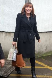 Lorraine Kelly - Outside ITV Studios in London 12/13/ 2016