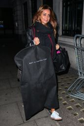 Louise Redknapp - Arrives at Radio 2 in London 12/16/ 2016