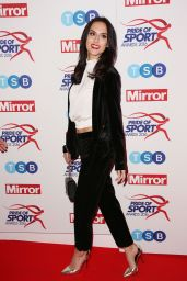 Lucy Watson - Pride of Sports Awards at Grosvenor House Hotel in London 12/8/ 2016