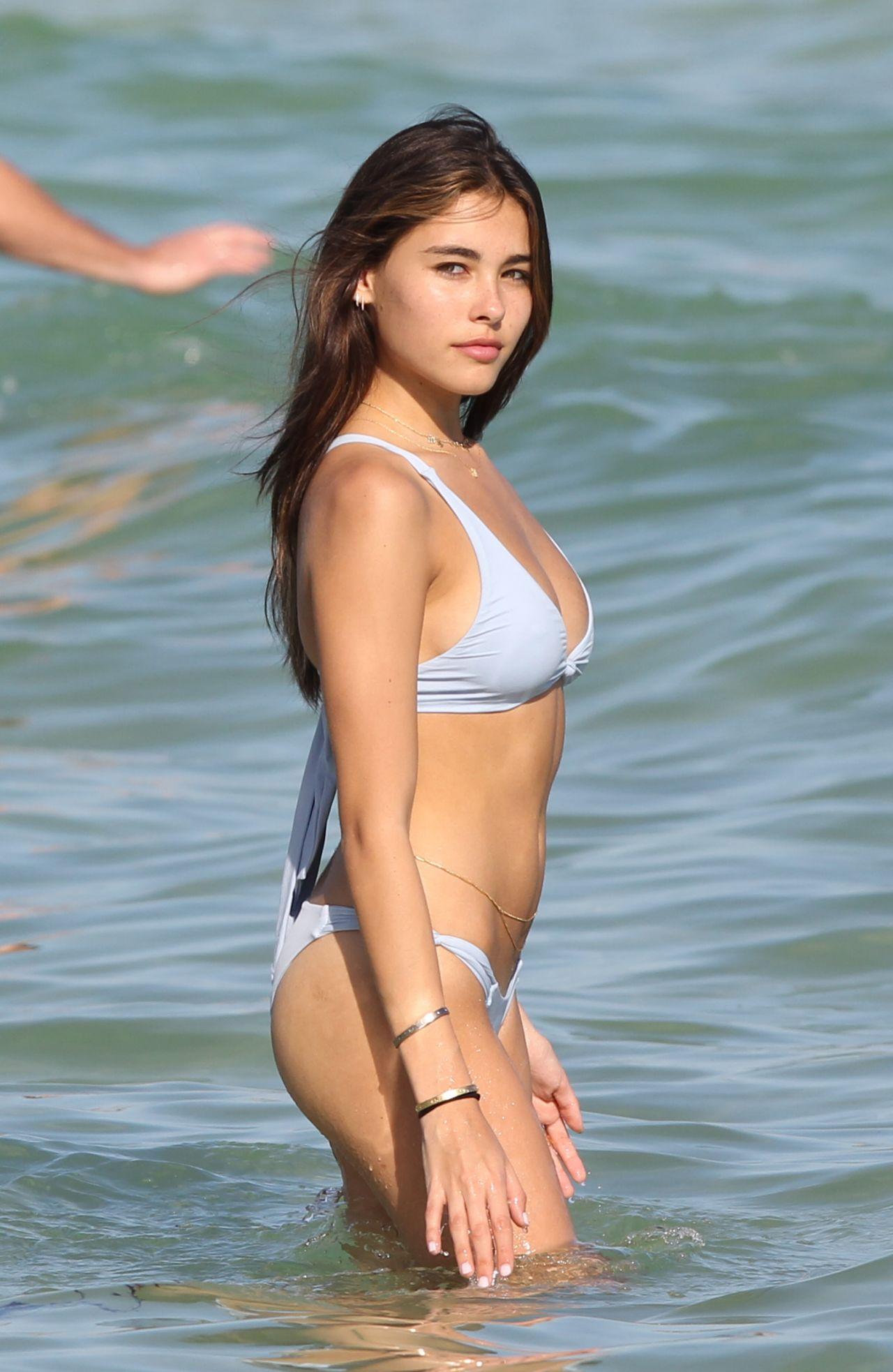 Madison Beer In A Bikini At Miami Beach 12 29 2016