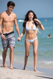 Madison Beer in a Bikini at Miami Beach 12/29/ 2016