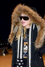 Madonna at JFK Airport in New York 12/20/ 2016