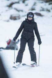 Madonna - Skiing in Verbier, Switzerland 12/29/ 2016