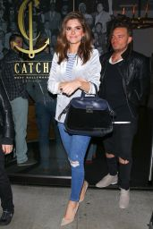 Maria Menounos at Catch in West Hollywood 12/6/ 2016