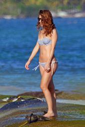 Maria Menounos in Bikini at the Beach in Mexico 12/29/ 2016