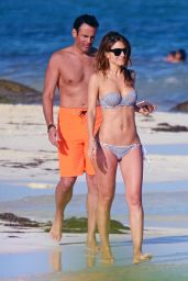Maria Menounos in Bikini at the Beach in Mexico 12/29/ 2016