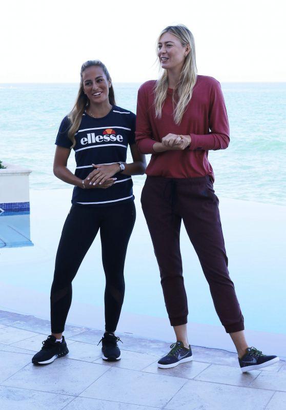 Maria Sharapova & Monica Puig - Puerto Rico, December 2016