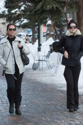 Maria Shriver - Enjoys an Afternoon of Shopping With Her Daughter Katherine in Aspen 12/27/ 2016