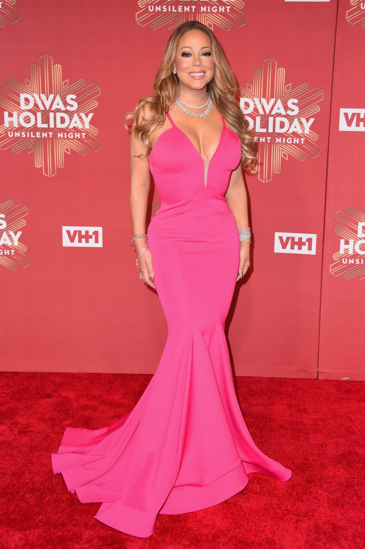Mariah carey 2016 vh1 39 s divas holiday unsilent night in new york - Mariah carey diva ...