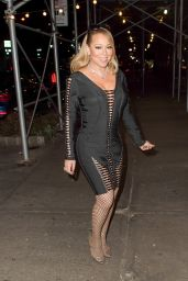 Mariah Carey Night Out Style - New York 12/6/ 2016