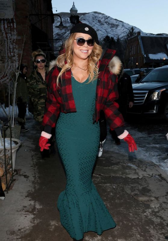 Mariah Carey - Out in Aspen 12/24/ 2016