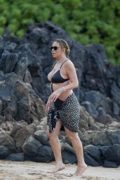 Mariah Carey - Playing With Her New Boyfriend in Hawaii, November 2016
