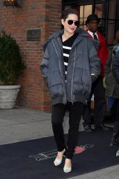 Marion Cotillard Autumn Style - Out in New York City 12/12/ 2016