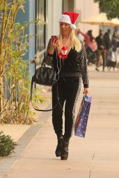 Mary Carey - Christmas Shopping With a Tiny Stuffed Santa - Studio City 12/12/ 2016