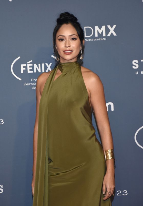 Maya Zapata - Fenix Awards in Mexico City 12/7/ 2016