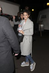 Michelle Keegan - Leaving a Recording Studio in London 12/15/ 2016