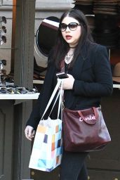 Michelle Trachtenberg - Shopping at The Grove in Los Angeles 11/30/ 2016