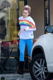 Miley Cyrus Street Style - Los Angeles 12/14/ 2016