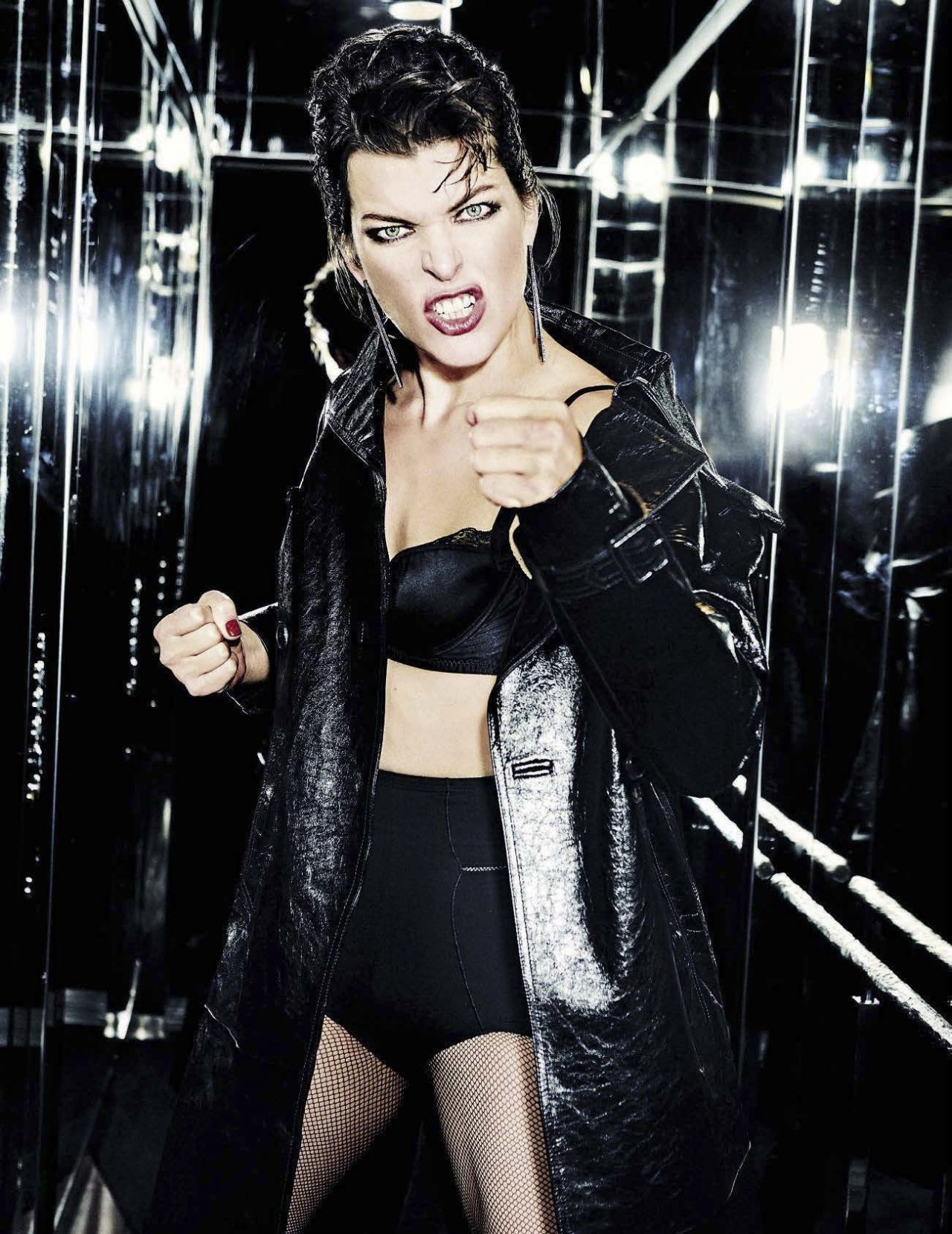 Milla Jovovich Vanity Fair Italy December 2016 Photos