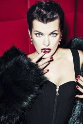 Milla Jovovich - Vanity Fair Italy December 2016 Photos