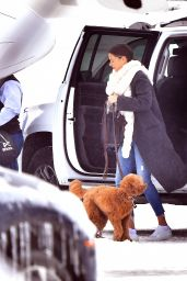 Miranda Kerr - Flies Out of Jackson Hole, WY 12/28/ 2016