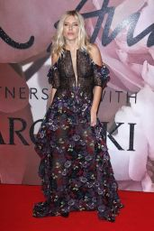 Mollie King – The Fashion Awards 2016 in London, UK