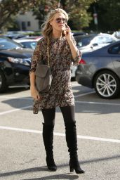 Molly Sims - Shopping at Saks Fifth Avenue in Beverly Hills 12/8/ 2016