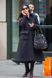 Monica Bellucci - Leaves her Hotel in Soho, New York 11/30/ 2016