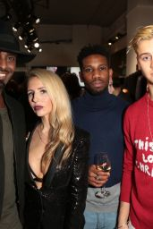 Naomi Isted – Joshua Kane Flagship Store Launch Party in London 12/21/ 2016