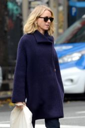 Naomi Watts - Walks to the Set of the New TV Show
