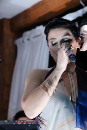 Nelly Furtado - Alex Katz X HM Art Basel Party in Miami 11/30/ 2016