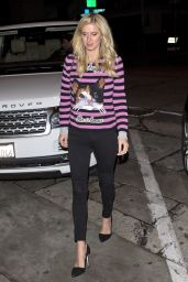 Nicky Hilton - Arriving For Dinner at Craigs Restaurant in West Hollywood 12/22/ 2016