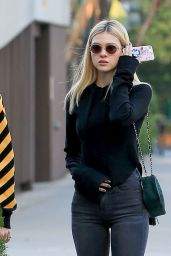 Nicola Peltz Casual Style - Out for Lunch in Beverly Hills 12/5/ 2016