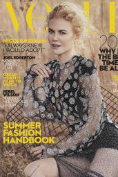 Nicole Kidman - Vogue Magazine Australia January 2017 Issue