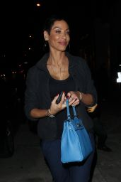 Nicole Murphy at Catch Restaurant in West Hollywood 12/16/ 2016