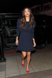 Nicole Scherzinger - Leaving the BBC Studios in London, December 2016