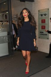 Nicole Scherzinger - Leaving the BBC Studios in London, December 2016