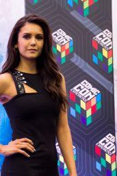 Nina Dobrev at Comic Con in São Paulo for