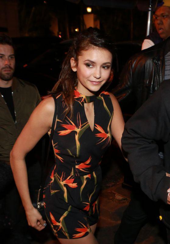 Nina Dobrev at Vin Diesel