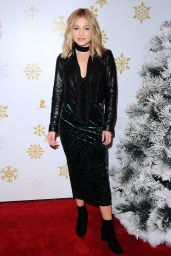Olivia Holt - Brooks Brothers Holiday Celebration for St. Jude Children